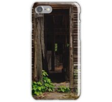 Into the Hog Barn iPhone Case/Skin