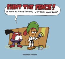 The Carrotty Kid: Paint the Fence Kids Tee