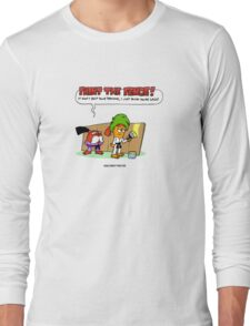 The Carrotty Kid: Paint the Fence Long Sleeve T-Shirt