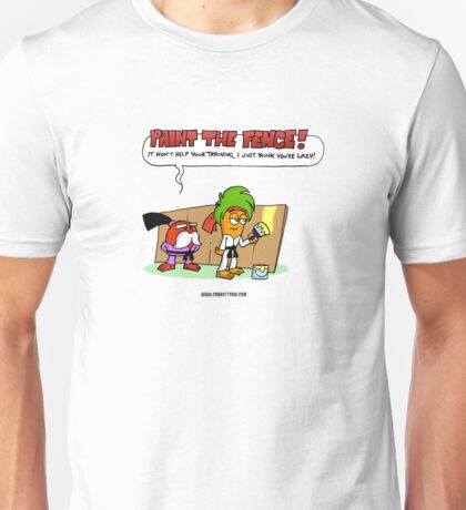 The Carrotty Kid: Paint the Fence Unisex T-Shirt