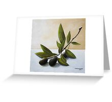 Olive Branch Greeting Card