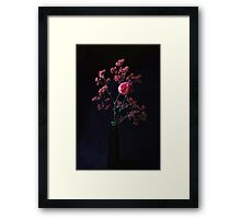 Black On Black Framed Print