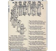 Miniature Under the Window Pictures & Rhymes for Children Kate Greenaway 1880 0017 The Miss Pellicoes iPad Case/Skin
