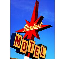 Stardust Motel Photographic Print