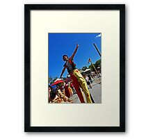 Great to be Tall Framed Print