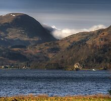 The Barrier Hills by alanrigg