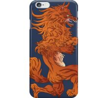 Wolf Code of Arms iPhone Case/Skin