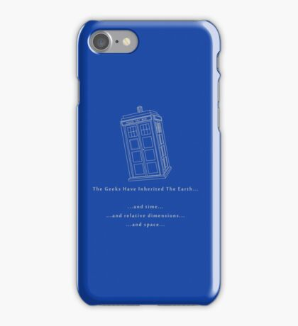 The Geeks Inherit The Earth iPhone Case/Skin