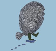 Flounder (Another Fish out of Water) by SusanSanford