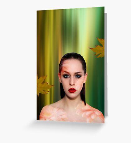 Rainforest beauty Greeting Card