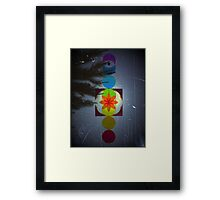 Chakra Moon  Framed Print