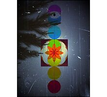 Chakra Moon  Photographic Print