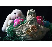 Easter bunny Photographic Print