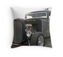 SunShining On The Roadster Throw Pillow
