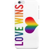 Love Wins! iPhone Case/Skin