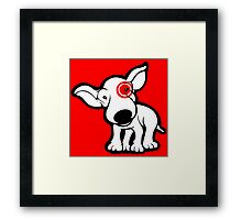 EBT Target Eye Patch Puppy Framed Print