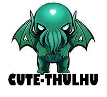Cute-thulhu Type Photographic Print