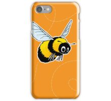 Happily Bumbling Bumble Bee iPhone Case/Skin
