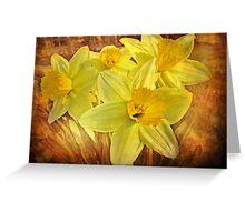 Spring Sonata Greeting Card