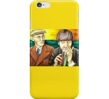 Wilfrid and John - scene from A Hard Day's Night 205 views iPhone Case/Skin