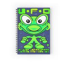 UFO Flying Instructor T Spiral Notebook