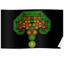 Pythagoras' Apple Tree Poster