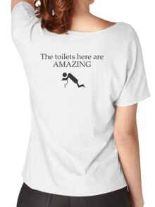 toilet drunk Women's Relaxed Fit T-Shirt