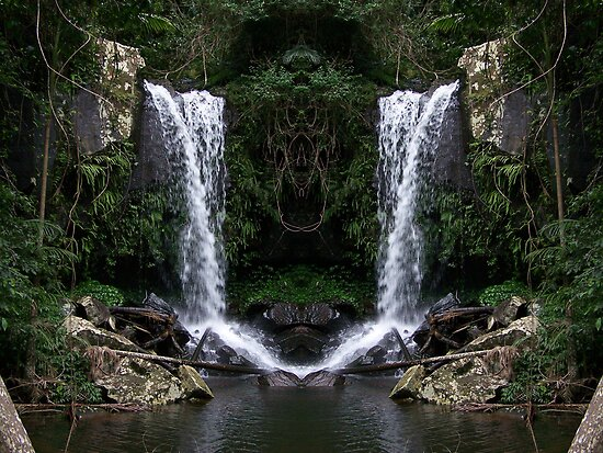 Curtus Falls Mirrored by Matthew Sims