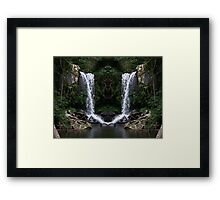Curtus Falls Mirrored Framed Print