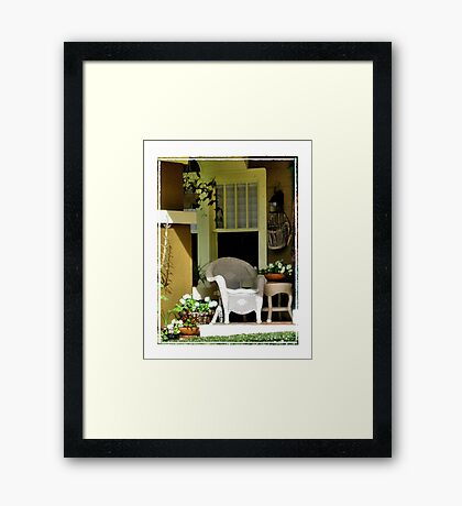 Neighbor Framed Print