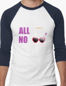 All T, No Shade  Men's Baseball ¾ T-Shirt