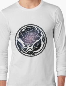 The Rose Medallion Long Sleeve T-Shirt
