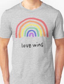 LGBTQA+  PRIDE [Love Wins] T-Shirt
