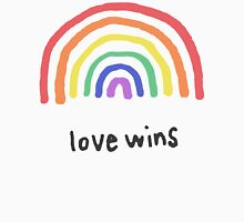 LGBTQA+  PRIDE [Love Wins] Unisex T-Shirt