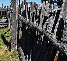 Wooden Fence by Julia Washburn