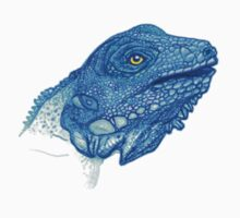 Blue Iguana by writocified