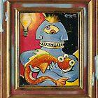 A Surrealist Joke by Rik V. Livingston as Zono Art