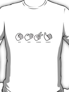 rock, paper, scissors, DYNAMITE! T-Shirt