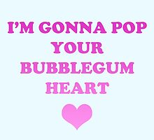 Bubblegum Bitch Lyrics by Daniel Bonney