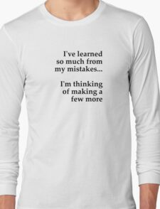 learning Long Sleeve T-Shirt