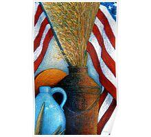 All American Still Life Poster