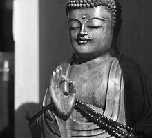 Buddha in BW by Edward Myers