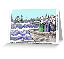 lifeboat Greeting Card