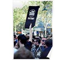 S.L.A.M. (Save Live Australian Music) Protest Rally II. Poster