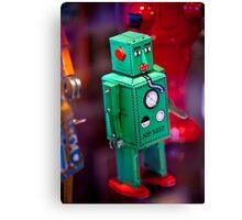 Tin Robot Canvas Print