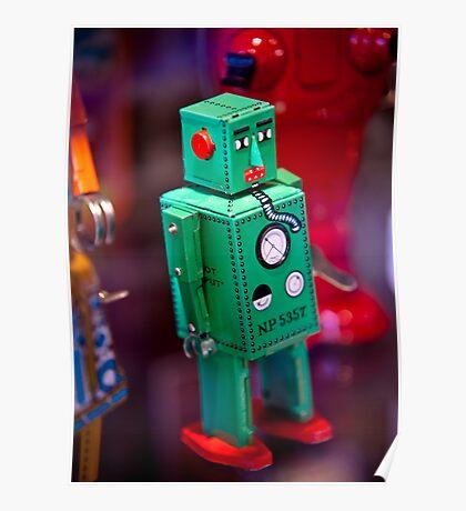 Tin Robot Poster