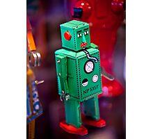 Tin Robot Photographic Print