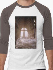 Cross Under The Pier Men's Baseball ¾ T-Shirt
