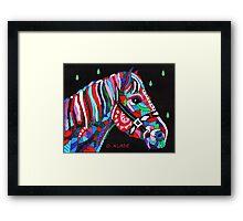 Mane Horse Framed Print