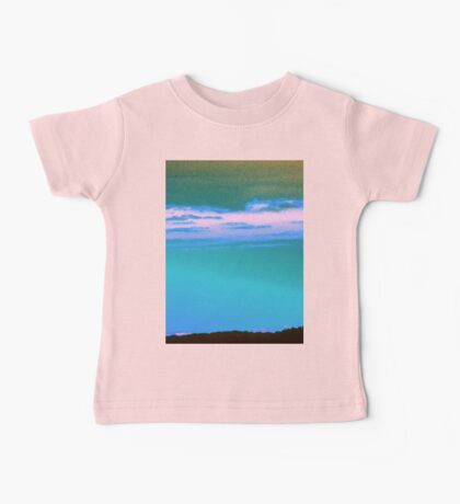 Blue Sky-Available As Art Prints-Mugs,Cases,Duvets,T Shirts,Stickers,etc Baby Tee